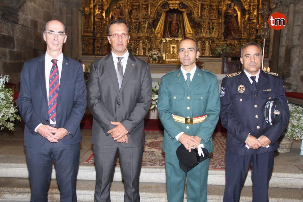 """La Guardia Civil de Baiona celebra el """"Día de su Patrona y de la Hispanidad"""""""