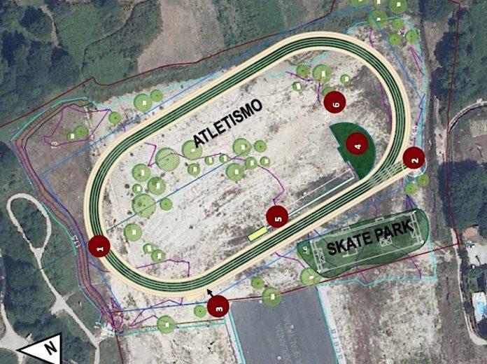 Porto do Molle contará con una pista de atletismo y un parque de Skate