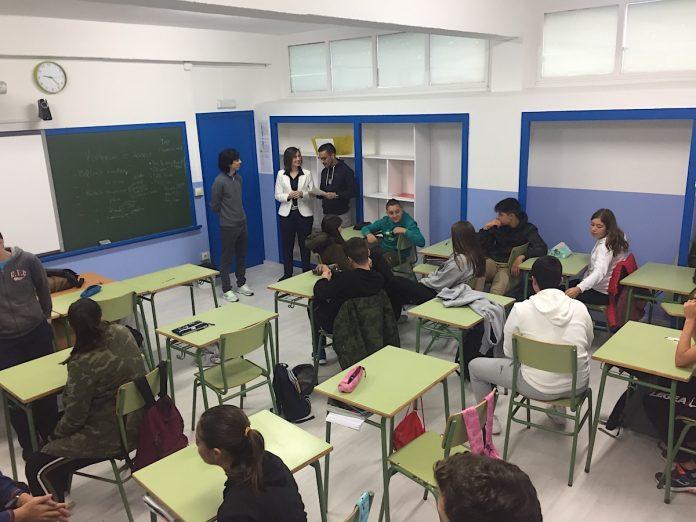 Alumnos de Baiona luchan contra la Violencia de Género a ritmo de RAP