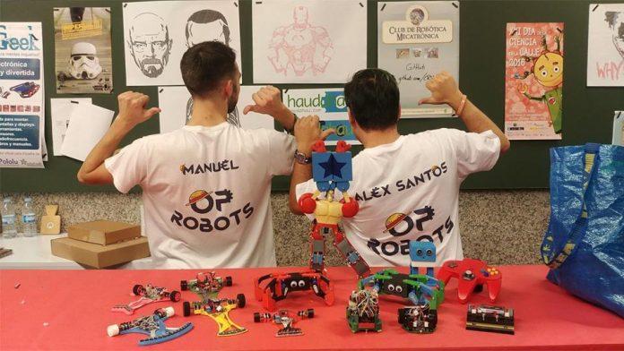 """La programación y la robótica en la Feria de Empleo y Formación """"Tecnoimaxín"""" de A Guarda"""