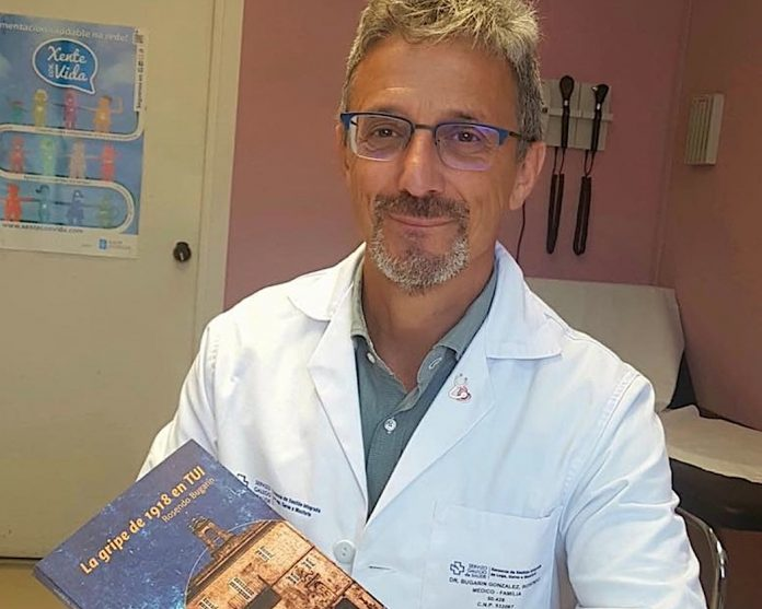 """El Doctor Rosendo Bugarín presenta en la Sala Félix Rodríguez su libro """"La gripe de 1918 en Tui"""""""