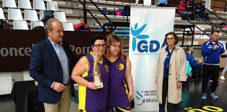 El San Xerome femenino logra el subcampeonato de liga de baloncesto adaptado