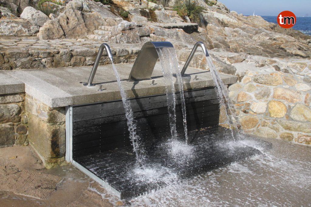 El Talaso natural de Baiona funcionará de abril a octubre