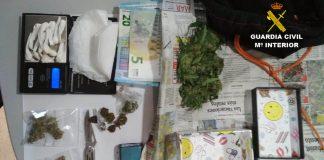 Detienen a un joven en Vincios por tráfico de drogas