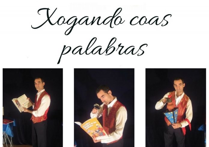 Espectáculo de magia en la biblioteca de Baiona