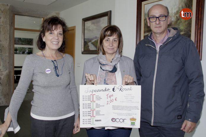 """Cuatro nuevos establecimientos acogen desde hoy la ruta del pincho """"Tapeando en O Rosal"""""""