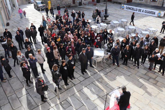 A Guarda conmemorou o Día Internacional contra a Violencia de Xénero