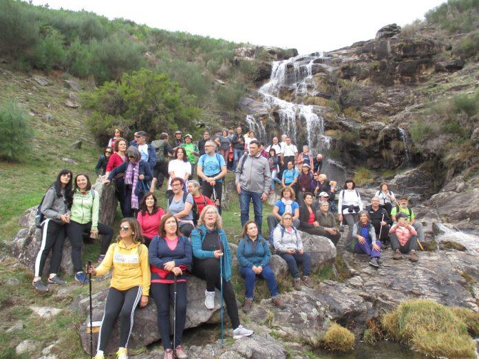 A ruta dos Muíños do Folón e do Picón pechou o calendario de andainas entre A Guarda e Caminha
