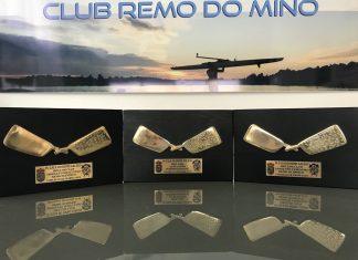 Tres galardones acreditan al Club Remo Do Miño como el mejor club de remo olímpico