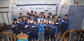 Todas las embarcaciones del Club Remo Tui optan a los 4 mejores puestos de España