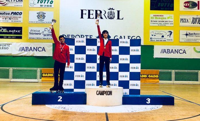 Dos primero puesto para el CPA de Gondomar en Ferrol