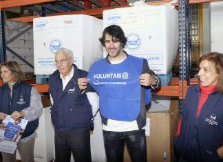David Amor, padrino de la Gran Recogida Solidaria del Banco de Alimentos