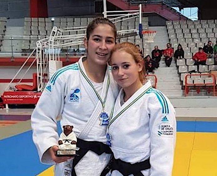 Elena Cañibano, del Clube de Judo Baixo Miño, conquista el número uno del ranking nacional