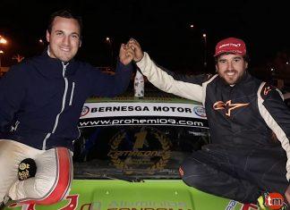 Los gondomareños Esteban Pérez y Ezequiel Salgueiro logran la Copa BMW Bernesga