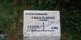A Comunidade de Montes de Camposancos instala 24 fitos de pedra no Trega