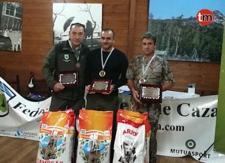 El oiense Javier Calvo, Campeón Gallego de Caza Menor con Perro