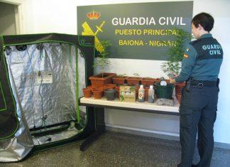 Investigan a un joven de Baiona por malos tratos en el ámbito familiar y tráfico de drogas