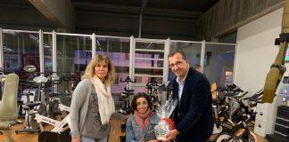 Baiona reconoce el esfuerzo de Mila López tras lograr la Copa de España de Ciclismo Adaptado