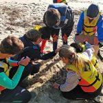 Baiona acoge el I Taller de sensibilización ambiental sobre el impacto del plástico en el medio marino