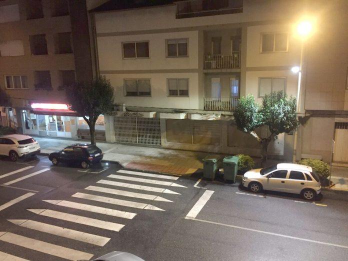 A Guarda mejora la seguridad peatonal con una nueva iluminación en los pasos de cebra