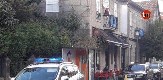 Denuncian a un joven de Nigrán por intimidar a los clientes de un bar de Gondomar con un cuchillo