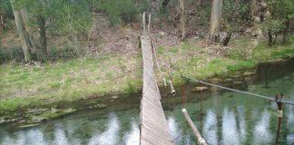 Oia reparará el puente colgante de Acevedo