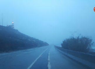 O Val Miñor y Oia, en alerta naranja por lluvia, viento y temporal costero