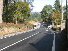 Mejoran uno de los accesos a Porto do Molle y al IES Val Miñor