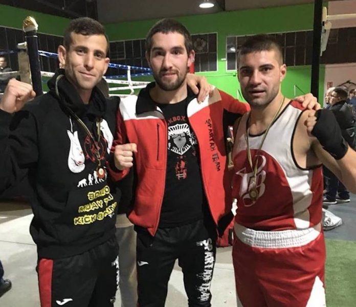 Dos campeonatos gallegos de boxeo para el Spartan Team de Tomiño