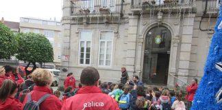 Alumnos del CEIP Souto de Donas realizan una visita guiada a Gondomar