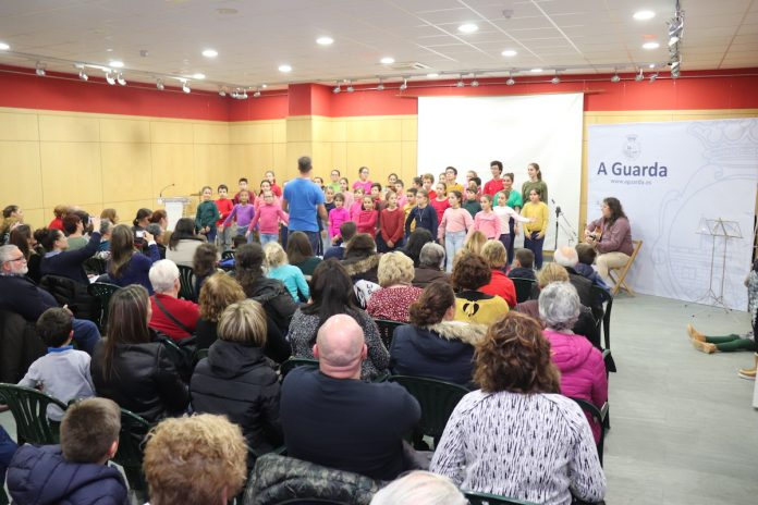 Primer concierto del Coro del Conservatorio de A Guarda