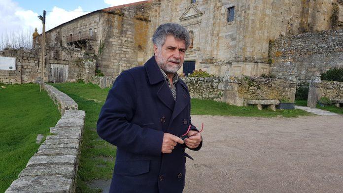 Gerardo Rodríguez , candidato del PSOE a la alcaldía de Oia