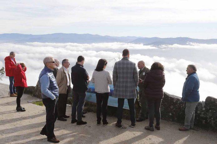 Medio Ambiente prevé aprobar el 'Plan Reitor de Usos e Xestión' del Parque Natural Monte Aloia