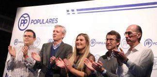 Presentan aos candidatos do PP a alcaldía de Tomiño e Gondomar coa presenza de Feijóo