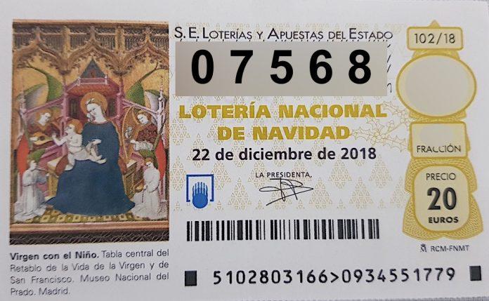 El 07.568 está dotado con 6.000 euros al décimo.