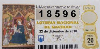 El 18.596 está dotado con 6.000 euros al décimo.