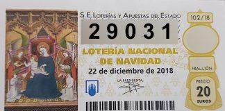 El 29.031 está dotado con 6.000 euros al décimo.