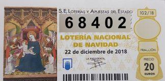 El 68.402 está dotado con 6.000 euros al décimo.