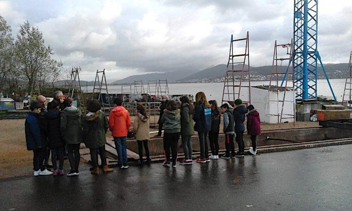 A Asociación Piueiro achega ós máis pequenos o mundo das embarcacións tradicionais