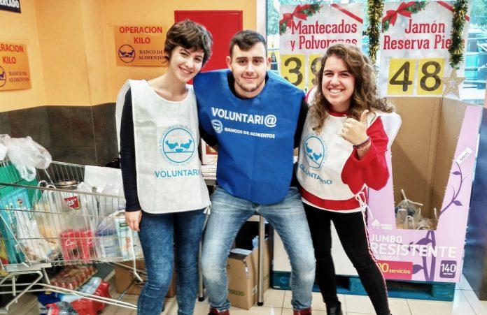 El Banco de Alimentos se aproxima a los 325.000 kilos de comida en su sexta Gran Recogida Solidaria