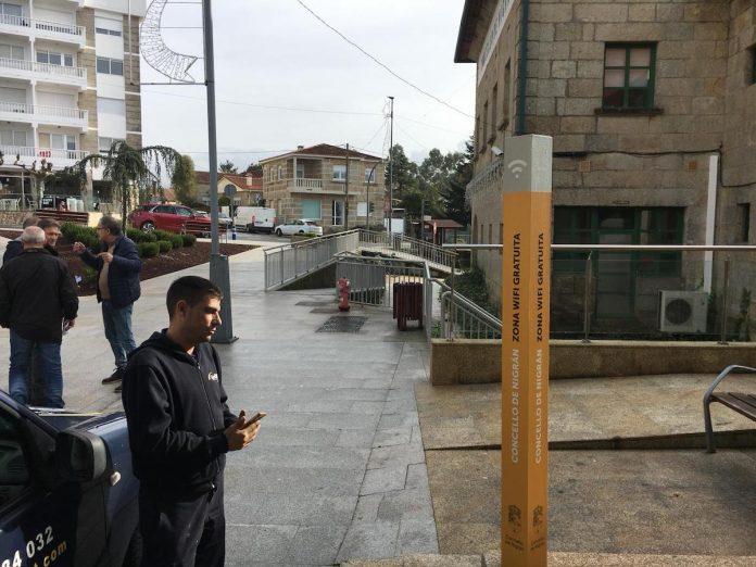 Nigrán invierte más de 14.500 euros en instalar Wifi gratuita en cuatro espacios públicos