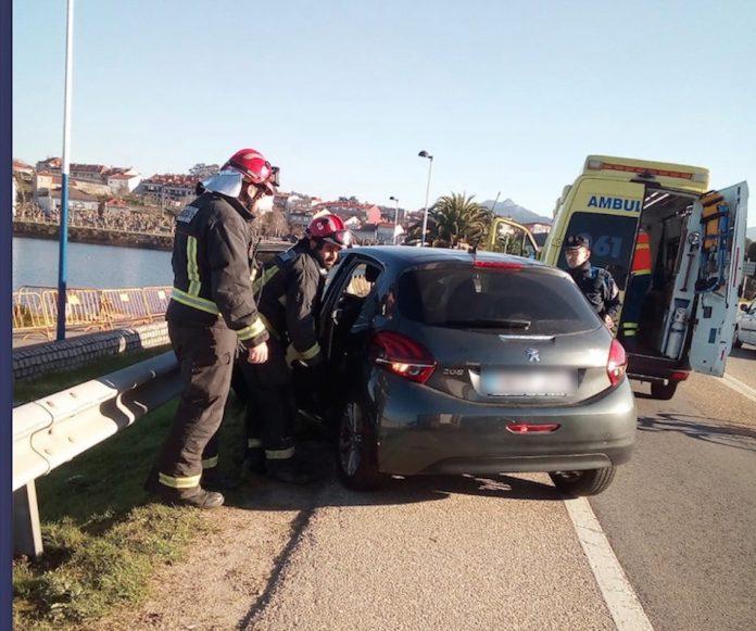 Primer accidente del año en Sabarís