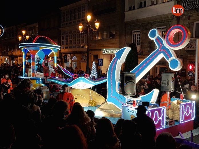 Cabalgat de Reyes en Baiona