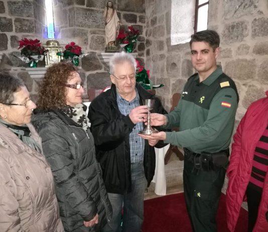 Recuperan en Madrid un cáliz del siglo XIX robado hace 35 años en Tomiño