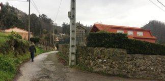 Nigrán pavimenta trece calles de la parroquia de Camos