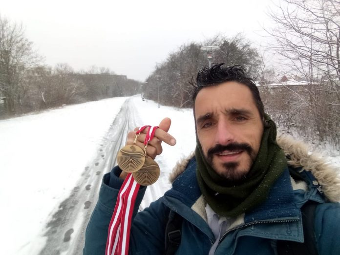 El guardés Damián Alonso se proclama doble campeón de Europa de Remoergometro