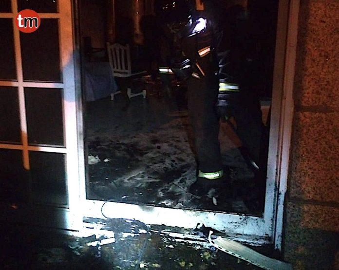El GES de O Val Miñor sofoca un incendio en una casa de Nigrán
