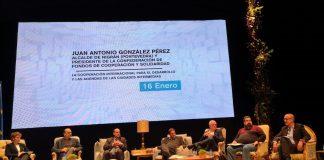 El alcalde de Nigrán, Juan González, participa en Soria en el encuentro internacional 'Think Europe'