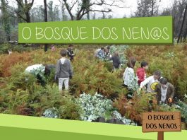 """A Comunidad de Montes de Vincios crea """"O Bosque dos nen@s"""""""