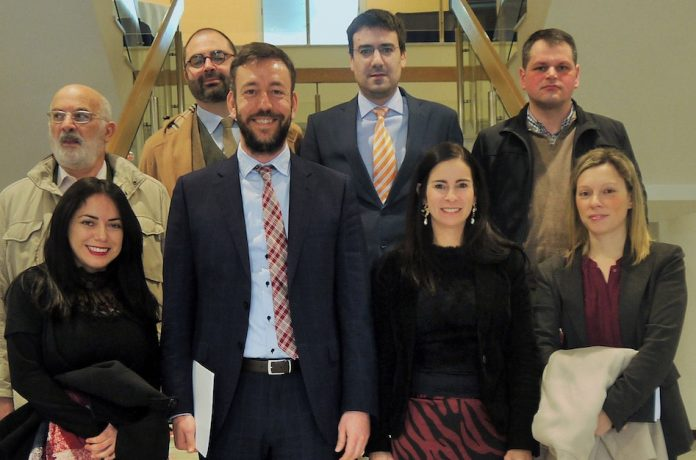 Padín detallou no Círculo de Empresarios de Galicia a disponibilidade de chan empresarial en Tui